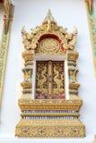 Finestra tailandese del tempio Fotografie Stock Libere da Diritti