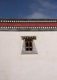 Finestra tibetana Immagini Stock Libere da Diritti