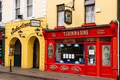 Macellaio irlandese tradizionale. Killarney. L'Irlanda Fotografia Stock