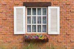Finestre aperte Fotografie Stock