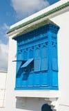 Finestre blu fotografia stock