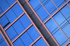 Finestre blu Immagini Stock Libere da Diritti