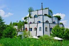 Finestre colorate della casa Fotografia Stock Libera da Diritti