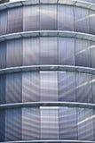 Finestre corporative - facciata di parcheggio Fotografia Stock Libera da Diritti