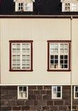 Finestre d'annata - Scandinavia fotografie stock libere da diritti
