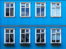 Finestre d'annata - Scandinavia immagini stock libere da diritti
