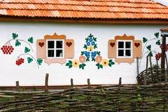 Finestre decorate Fotografia Stock