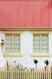 Finestre del cottage fotografia stock