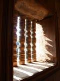 Finestre del legname Immagini Stock Libere da Diritti