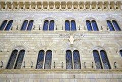 Finestre del monumento storico Fotografia Stock Libera da Diritti