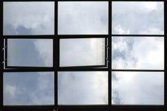 Finestre del tetto Fotografia Stock
