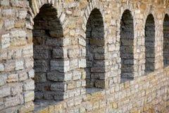 finestre dell'arco Immagini Stock
