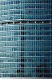 finestre dell'ufficio della costruzione Fotografie Stock Libere da Diritti