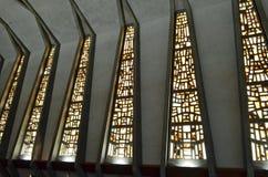 Finestre della chiesa Fotografia Stock Libera da Diritti