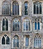 Finestre della chiesa Immagini Stock Libere da Diritti