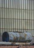Finestre della fabbrica Fotografia Stock
