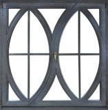 Finestre della struttura di legno con vetro Fotografia Stock Libera da Diritti