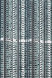 Finestre delle costruzioni del grattacielo immagine stock libera da diritti