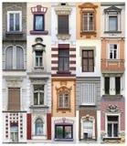 Finestre di Belgrado Fotografia Stock Libera da Diritti
