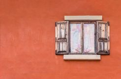 Finestre di legno Fotografie Stock Libere da Diritti
