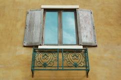 Finestre di legno Fotografia Stock Libera da Diritti