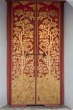 Finestre di legno. Fotografia Stock
