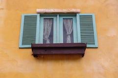 Finestre di legno Fotografie Stock