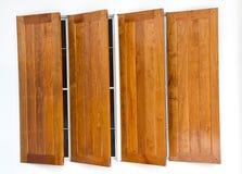 Finestre di legno Immagini Stock
