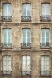 Finestre di Parigi Fotografie Stock