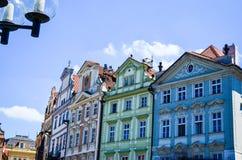 Finestre di Praga immagini stock libere da diritti