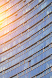 Finestre di vetro del grattacielo fotografia stock libera da diritti