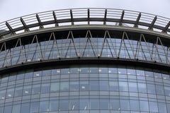 Finestre di vetro della costruzione di affari Immagini Stock Libere da Diritti