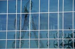 Finestre di vetro della costruzione immagine stock libera da diritti