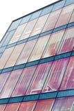 Finestre di vetro rosse Immagini Stock