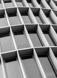 Finestre edificio di Offie Fotografia Stock