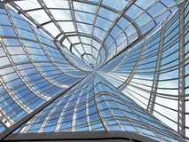 finestre futuristiche Immagini Stock