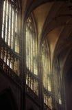 Finestre gotiche Fotografia Stock Libera da Diritti