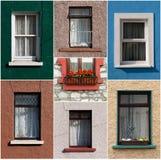Finestre irlandesi Immagini Stock Libere da Diritti