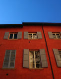 Finestre italiane Fotografie Stock Libere da Diritti