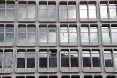 Finestre Manchester dell'ufficio Immagine Stock