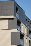 Finestre moderne del bene immobile esteriori Immagine Stock