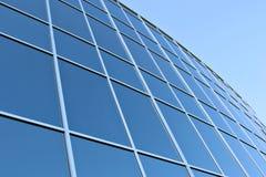Finestre moderne dell'edificio per uffici Immagine Stock Libera da Diritti