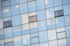 Finestre quadrate Fotografia Stock Libera da Diritti