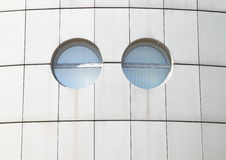 Finestre rotonde Fotografia Stock Libera da Diritti