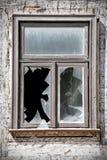finestre rotte Immagine Stock