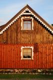 Finestre rustiche Fotografia Stock