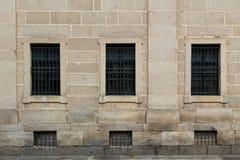 Finestre simmetriche Fotografia Stock