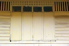 Finestre variopinte Fotografia Stock
