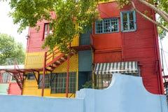 La Boca Buenos Aires fotografie stock libere da diritti