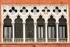 Finestre veneziane Immagini Stock